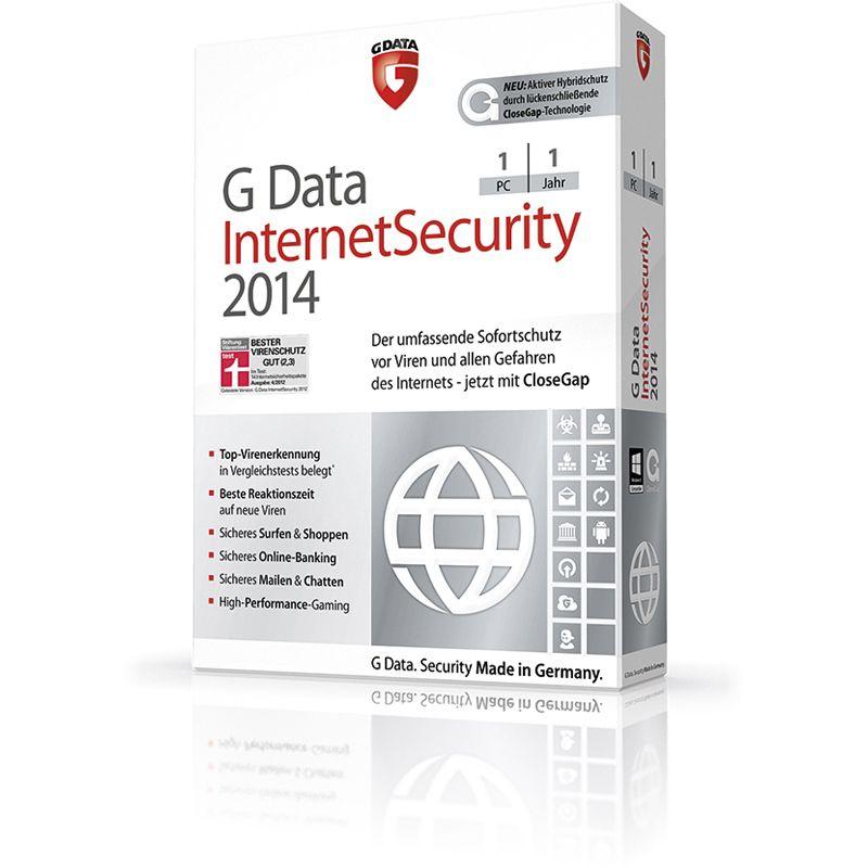 G Data Internet Security на 90 дней не активированный