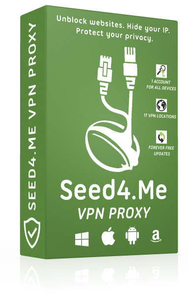 Seed4Me VPN 1 year premium access