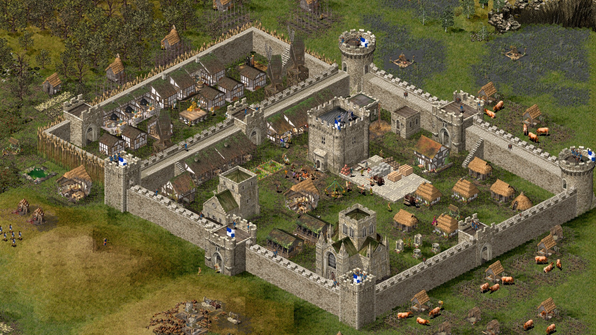 Stronghold HD (Steam gift/RuCiS)