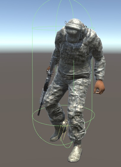 Unity soldier package