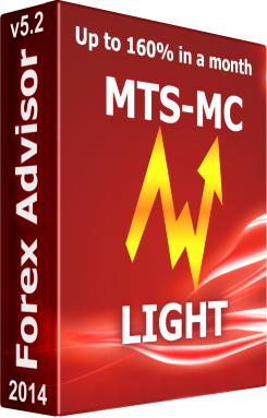 Forex Expert Advisor MTS-MC LIGHT Price for 10 trading days