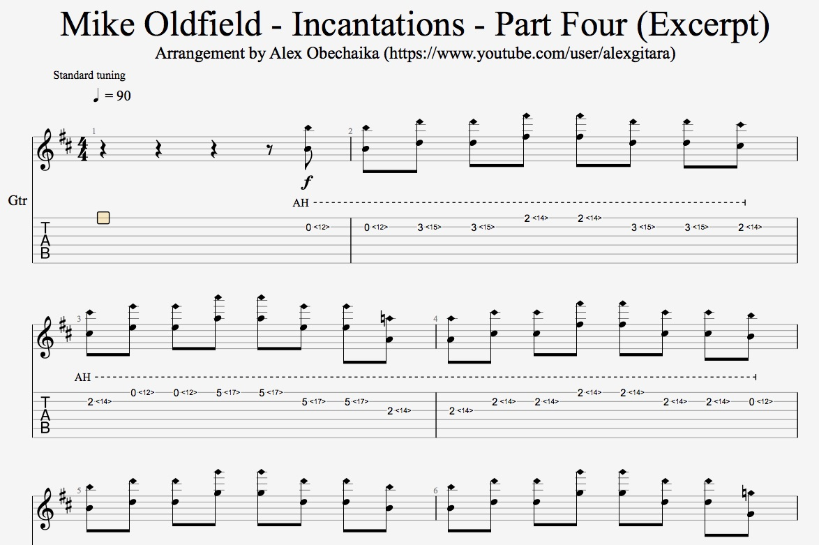 Mike Oldfield - Incantations - Part Four (Excerpt)