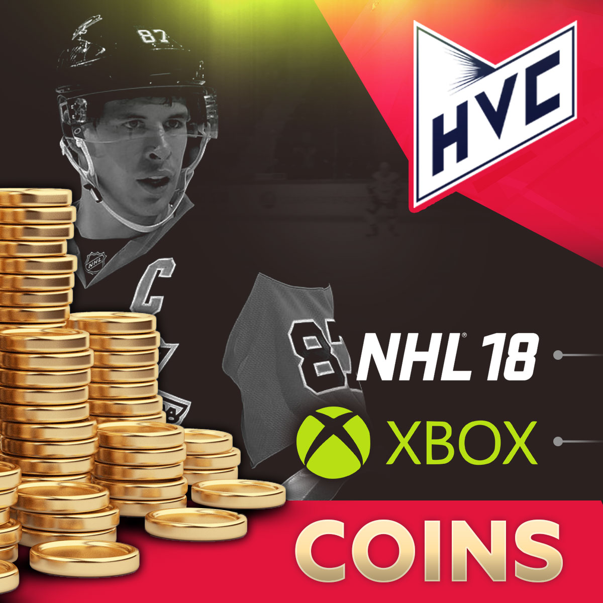 COINS NHL 18 XBOX  HUT Coins | Low Price | Fast | + 5%