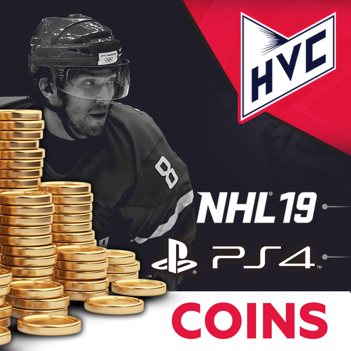 COINS NHL 19 PS4 HUT Coins | Low Price | Fast | + 5%