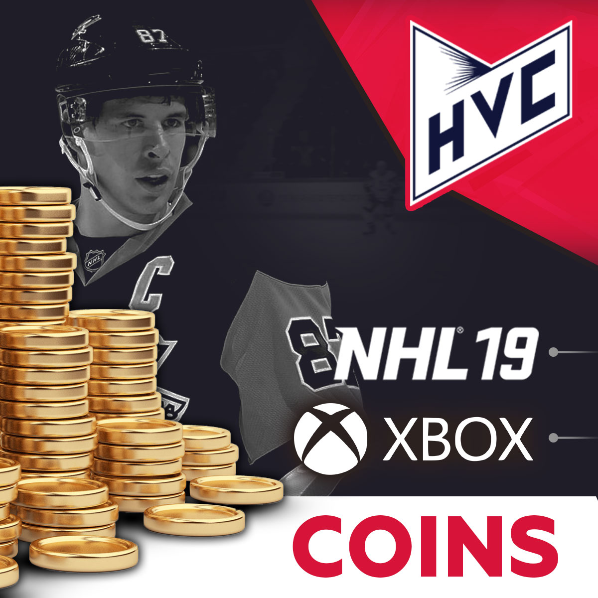 COINS NHL 19 XBOX  HUT Coins | Low Price | Fast | + 5%