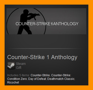 Counter-Strike 1 Anthology (Steam Gift/Region Free)