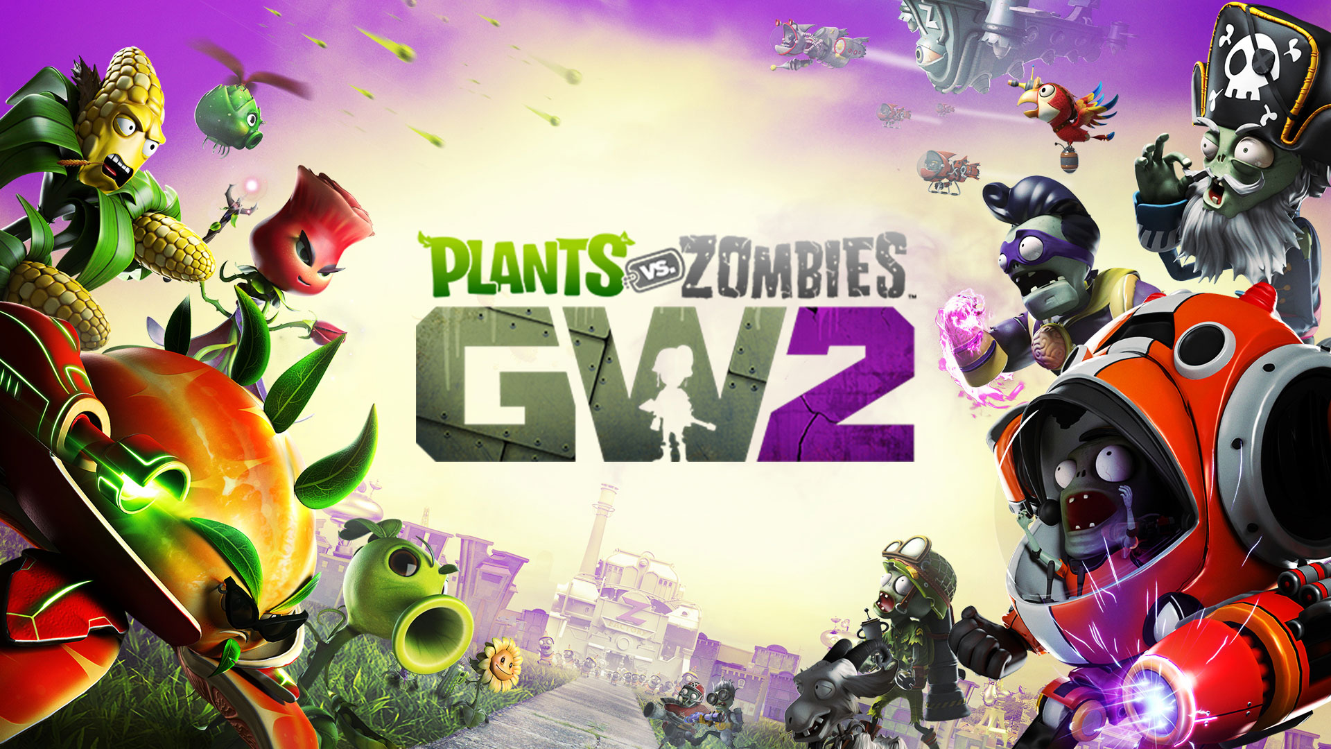 Plants vs Zombie Garden Warfare 2  +Бонус +Подарок