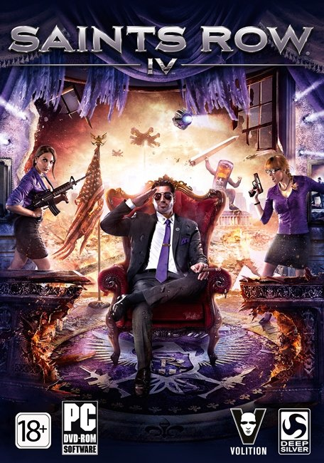 Saints Row IV: Game of the Century (Steam Gift RU-CIS)