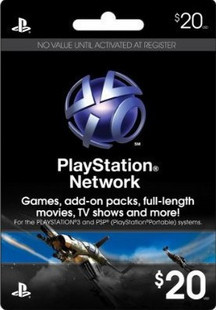 Buy PlayStation Network (PSN) 20 $ - USA(DISCOUNTS) and download