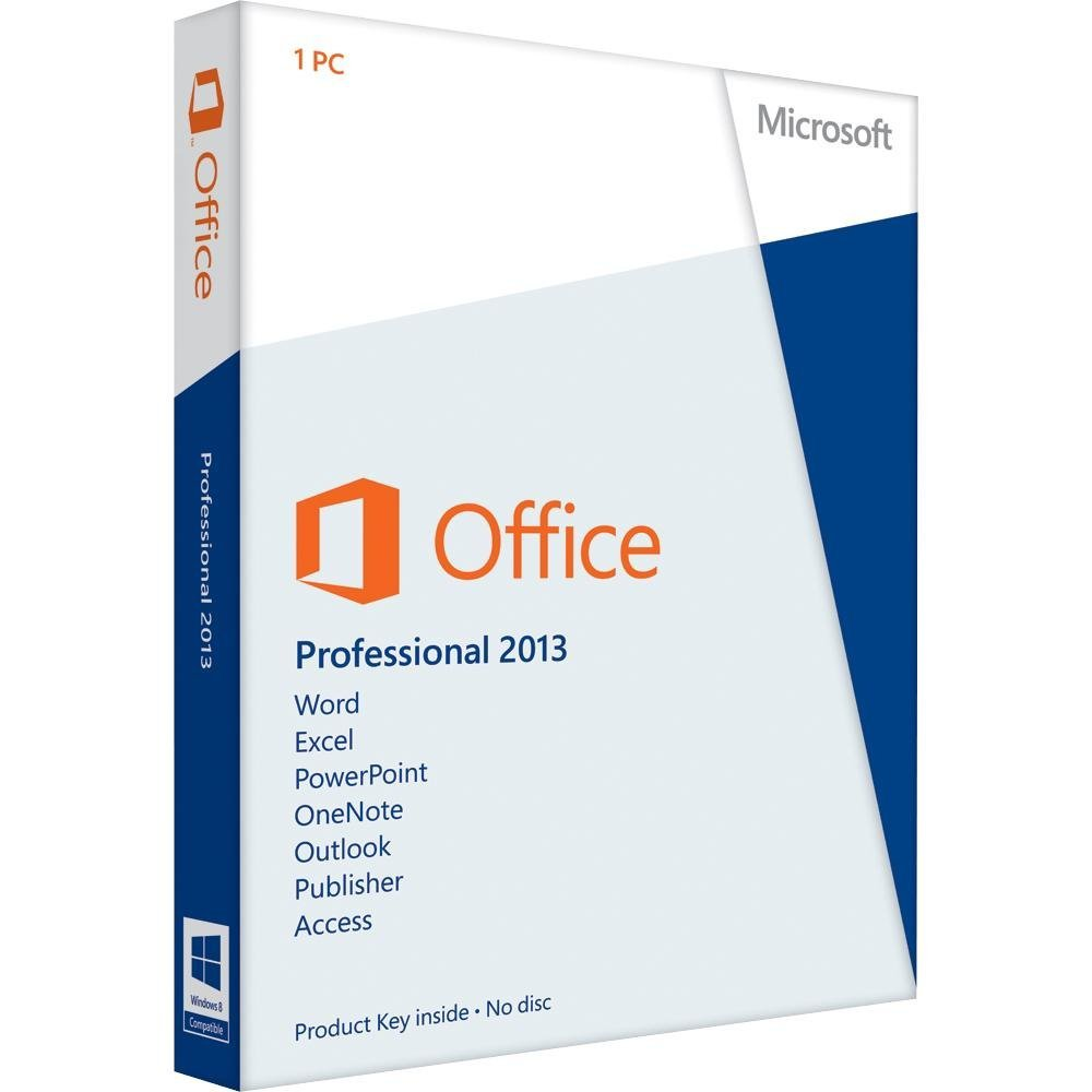 Microsoft Office 2013 Pro - lifetime key