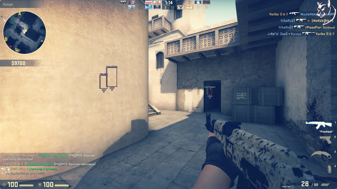 Procheat chit dlya cs go 30 dаy