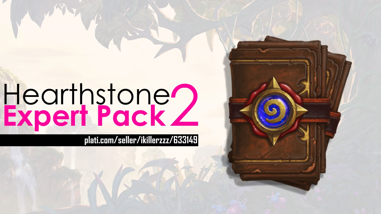 2 Hearthstone Expert Pack (10cards) Play IPhone & IPad