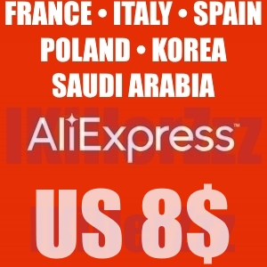 🛒💲 8$/8.01$ Aliexpress FR/ES/IT/PL/SA/KR until 29.04.