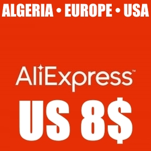 ✅ 8$/8.01$ Aliexpress ALGERIA/EUROPE/USA - until 15.04.