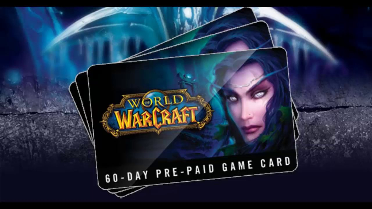 World of Warcraft (WOW) GAME TIME 60 DAYS (US) TEXT