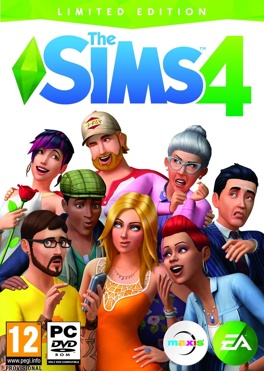 The Sims 4 Limited Edition (RU/PL) + ПОДАРОК