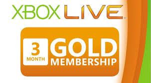 xBox Live - 3 Months gold card (MS POINTS) REGION FREE