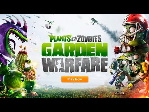 Plants vs Zombies PVZ Garden Warfare (ORIGIN) REG. FREE