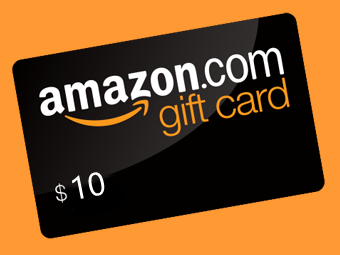 AMAZON 10$ GIFT CARD + BONUS