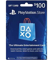 PlayStation Network (PSN) - 100 USD + ПОДАРОК