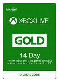 Xbox LIVE (Microsoft Points)Gold card 14 days REG FREE