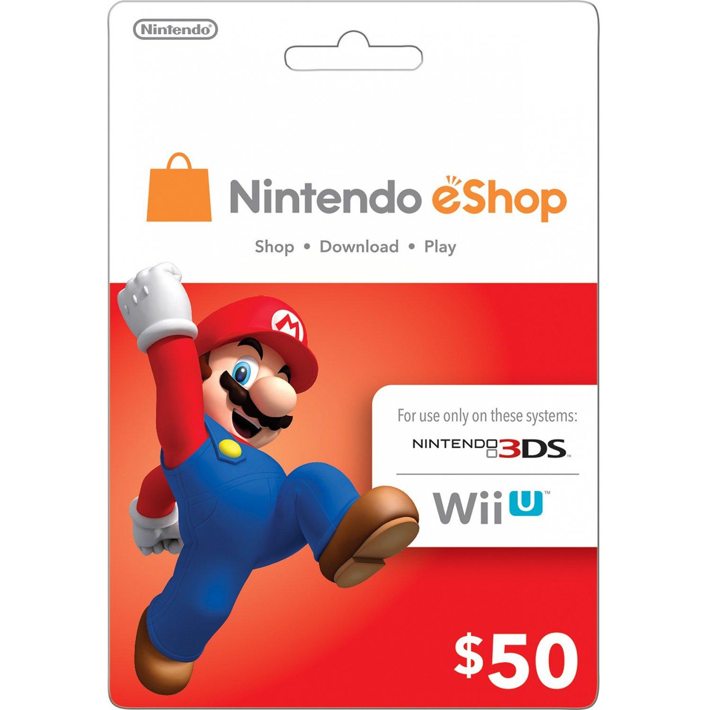 Buy NINTENDO EShop $50 GIFT CARD USA + BONUS And Download