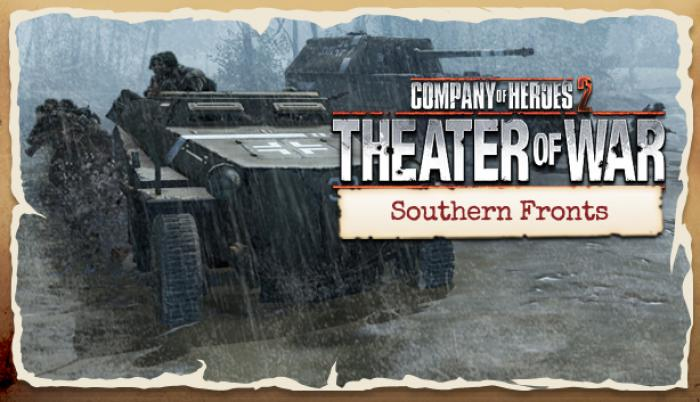 COMPANY OF HEROES 2: THEATRE OF WAR-SOUTHERN FRONTS DLC