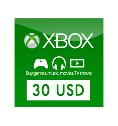 30 xbox gift card buy xbox live gift card 30 usd usa bonus and download 349