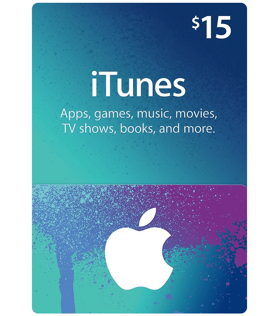 ITUNES GIFT CARD $15 USA + BONUS