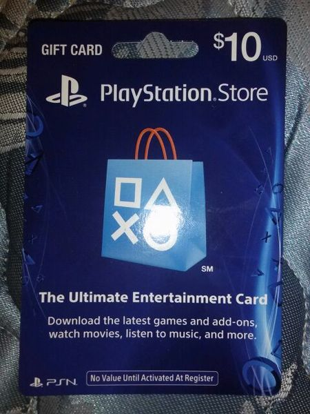 PLAYSTATION NETWORK (PSN) - 10 USD + BONUS