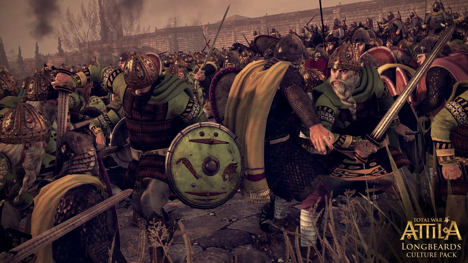 TOTAL WAR ATTILA STEAM RU+ BONUS