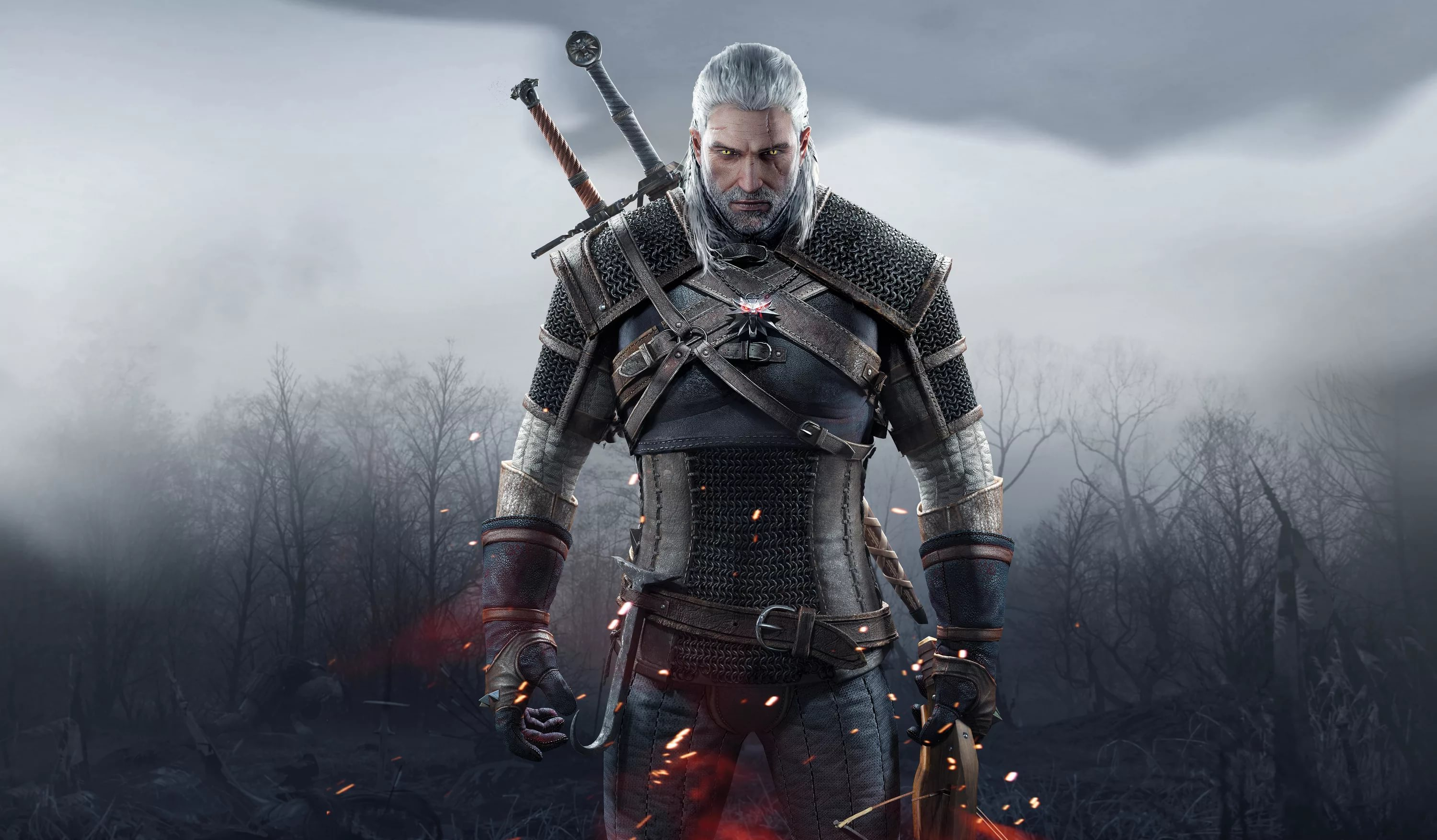 WITCHER 3 WILD HUNT + EXPANSION PASS GOG GLOBAL + БОНУС