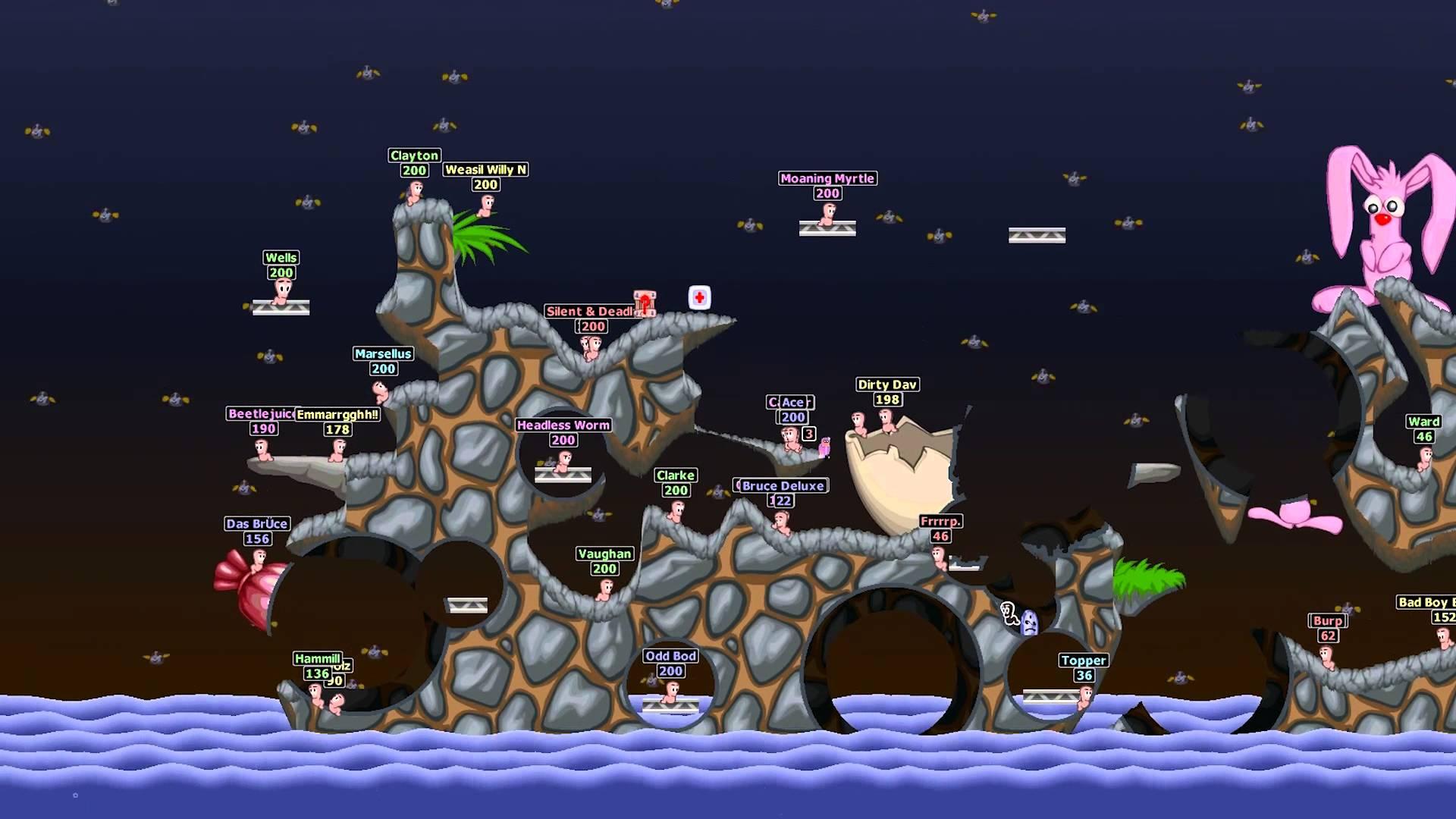 Resultado de imagen para worms world party steam