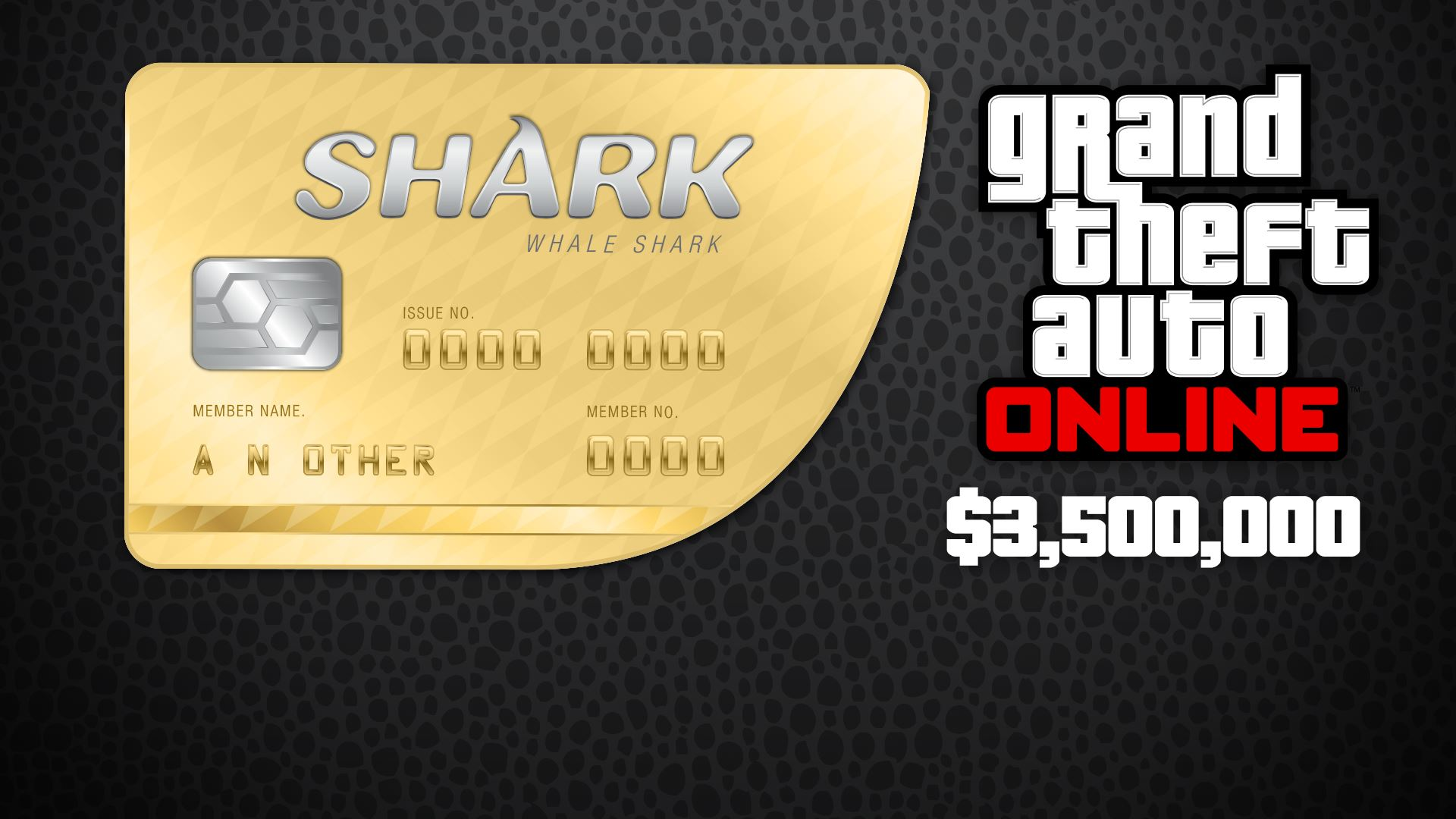 GTA Online: WHALE Shark 1 250 000$ (REGION FREE) PC