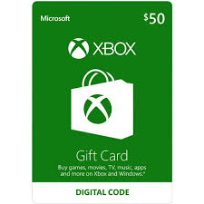 XBOX LIVE GIFT CARD 50 USD (USA) + BONUS