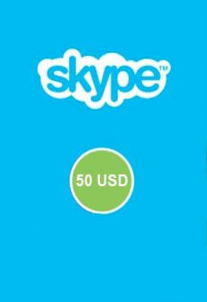 ORIGINAL SKYPE VOUCHER 50 USD