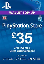 PLAYSTATION NETWORK (PSN) - £35 GBP (UK) | + BONUS
