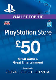 PLAYSTATION NETWORK (PSN) - £50 GBP (UK) | + BONUS
