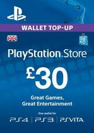 PLAYSTATION NETWORK (PSN) - £30 GBP (UK) | + BONUS