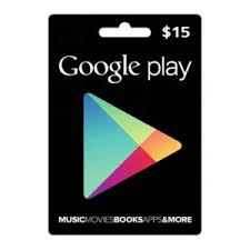Google Play 15 USD Gift Card US