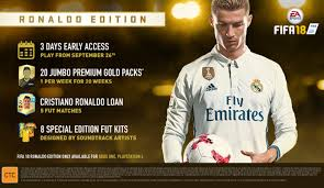 FIFA 18 CRISTIANO RONALDO EDITION XBOX ONE CD KEY