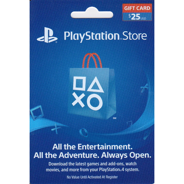 PLAYSTATION NETWORK (PSN) - 25 USD + BONUS
