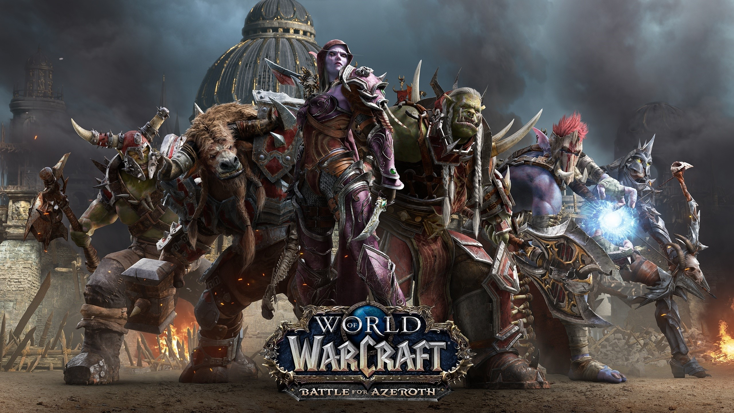 WORLD OF WARCRAFT: BATTLE FOR AZEROTH USA + LVL 110