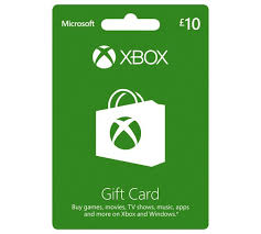 XBOX LIVE GIFT CARD 10 GBP (UK) + BONUS