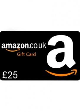 AMAZON £25 GBP GIFT CARD + BONUS
