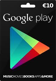 Google Play 10 EUR Gift Card GERMANY (DE) 2019