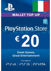 PLAYSTATION NETWORK (PSN) - 20 EUR (ITALY) + BONUS