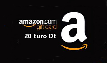 AMAZON 20 EUR DE GERMANY GIFT CARD + BONUS