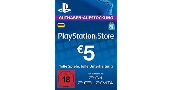 PLAYSTATION NETWORK (PSN) - 5 EUR (DE) + BONUS
