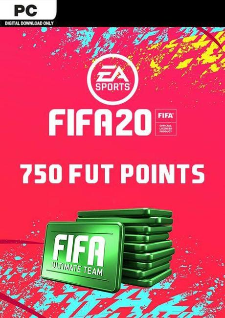 FIFA 20 Ultimate Team FUT 750 Points - Origin GLOBAL